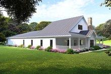 Farmhouse Exterior - Rear Elevation Plan #923-105