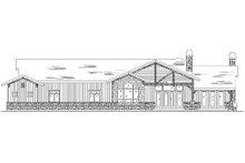 Dream House Plan - Craftsman Exterior - Rear Elevation Plan #5-308