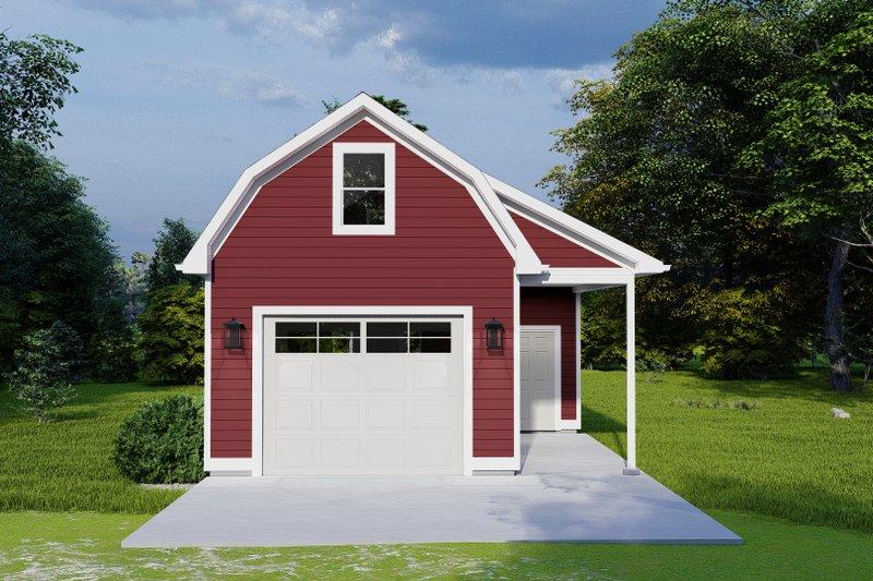 Home Plan - European Exterior - Front Elevation Plan #1060-124