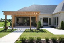 European Exterior - Outdoor Living Plan #923-69