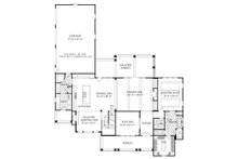 Traditional Floor Plan - Main Floor Plan Plan #927-43