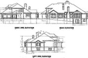 Mediterranean Style House Plan - 4 Beds 4 Baths 3935 Sq/Ft Plan #67-170