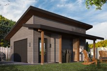 Contemporary Exterior - Front Elevation Plan #23-2668