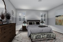 Dream House Plan - Craftsman Interior - Master Bedroom Plan #1060-52