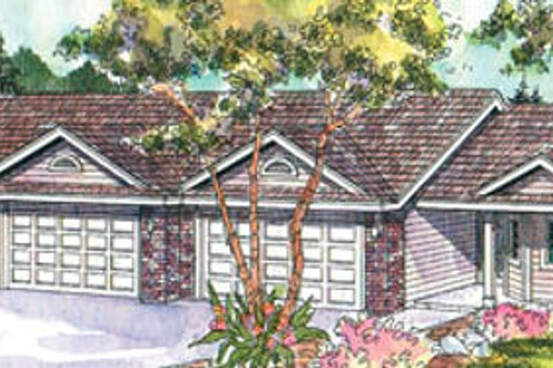 Traditional Exterior - Front Elevation Plan #124-678 - Houseplans.com