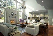House Plan Design - Contemporary Interior - Family Room Plan #1066-12