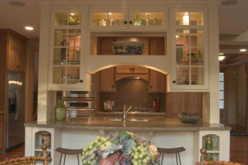 Kitchen photo of Craftsman style home