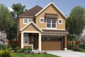 Craftsman Exterior - Front Elevation Plan #48-631