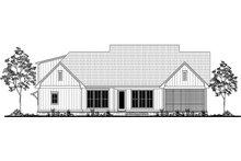 Architectural House Design - Farmhouse Exterior - Rear Elevation Plan #1067-1