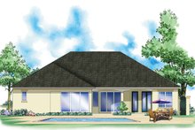 Architectural House Design - Ranch Exterior - Rear Elevation Plan #930-490