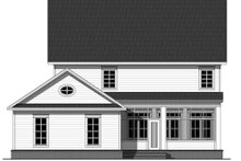Traditional Exterior - Rear Elevation Plan #21-322