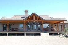 Dream House Plan - Craftsman Exterior - Rear Elevation Plan #895-19