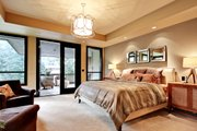 Modern Style House Plan - 4 Beds 4.5 Baths 4750 Sq/Ft Plan #132-221 Interior - Master Bedroom