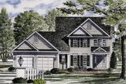 Colonial Style House Plan - 3 Beds 2.5 Baths 1816 Sq/Ft Plan #316-121 Exterior - Front Elevation