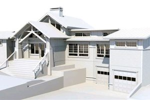 Craftsman Exterior - Front Elevation Plan #451-10