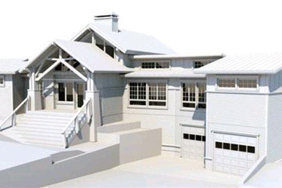 Craftsman Exterior - Front Elevation Plan #451-10