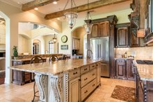 Mediterranean Interior - Kitchen Plan #930-276
