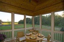 Dream House Plan - Craftsman Exterior - Covered Porch Plan #56-597