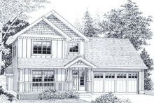 House Design - Traditional Exterior - Front Elevation Plan #53-168