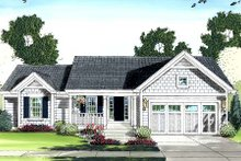 Home Plan - Cottage Exterior - Front Elevation Plan #46-410