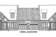 European Style House Plan - 3 Beds 2.5 Baths 3366 Sq/Ft Plan #17-2009 Exterior - Other Elevation