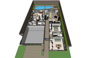 Ranch Style House Plan - 3 Beds 2 Baths 1633 Sq/Ft Plan #489-2 Floor Plan - Other Floor