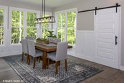 Craftsman Style House Plan - 4 Beds 3.5 Baths 3102 Sq/Ft Plan #929-60 Interior - Dining Room