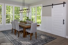 Craftsman Interior - Dining Room Plan #929-60