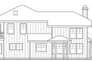 Craftsman Style House Plan - 3 Beds 3 Baths 2602 Sq/Ft Plan #124-459 Exterior - Other Elevation