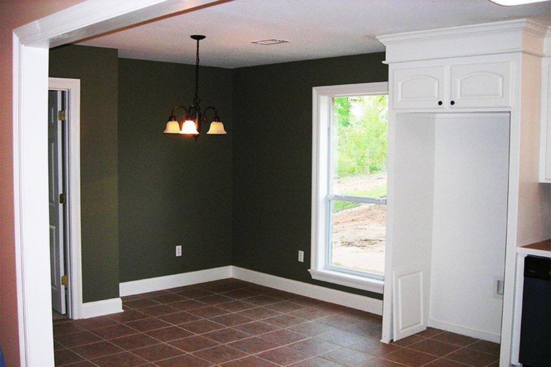 Country Interior - Dining Room Plan #430-20 - Houseplans.com