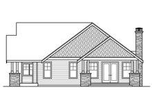 Craftsman Exterior - Other Elevation Plan #124-1014