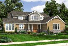 Dream House Plan - Bungalow Exterior - Front Elevation Plan #46-456