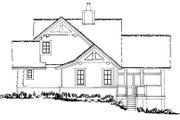 Cottage Style House Plan - 3 Beds 3 Baths 1689 Sq/Ft Plan #942-39 Exterior - Other Elevation