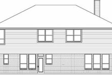Traditional Exterior - Rear Elevation Plan #84-147