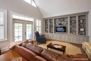 Ranch Style House Plan - 4 Beds 3 Baths 2494 Sq/Ft Plan #929-1005 Interior - Family Room