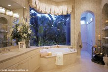Mediterranean Interior - Master Bathroom Plan #930-192