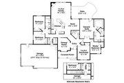 Mediterranean Style House Plan - 5 Beds 3 Baths 2507 Sq/Ft Plan #124-466 Floor Plan - Main Floor Plan