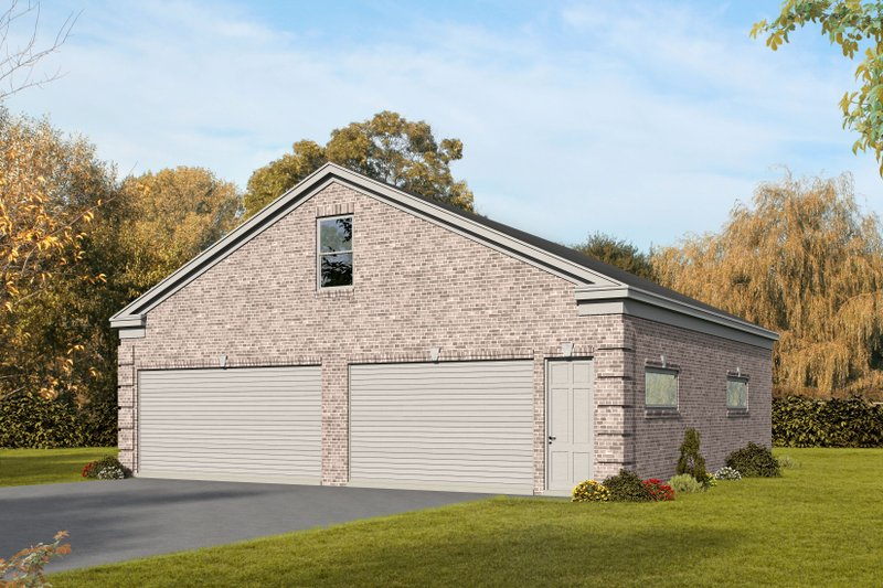 Dream House Plan - Country Exterior - Front Elevation Plan #932-270