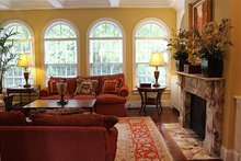 Home Plan - Colonial Interior - Dining Room Plan #137-155
