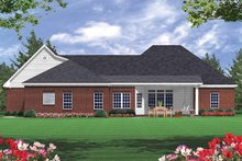 Home Plan - Southern Exterior - Rear Elevation Plan #21-102