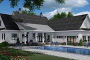 Farmhouse Style House Plan - 3 Beds 3.5 Baths 2570 Sq/Ft Plan #51-1150 Exterior - Rear Elevation