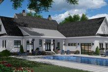 Farmhouse Exterior - Rear Elevation Plan #51-1150