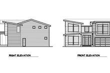 Architectural House Design - Left/Rear