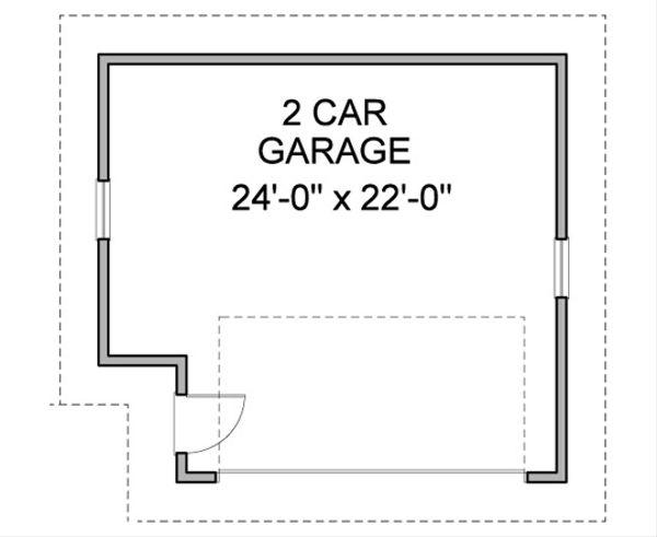 Bungalow Floor Plan - Other Floor Plan Plan #490-26