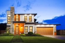 Dream House Plan - Contemporary Exterior - Front Elevation Plan #1058-180