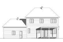 Modern Exterior - Rear Elevation Plan #23-2309