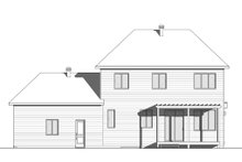 House Design - Modern Exterior - Rear Elevation Plan #23-2309