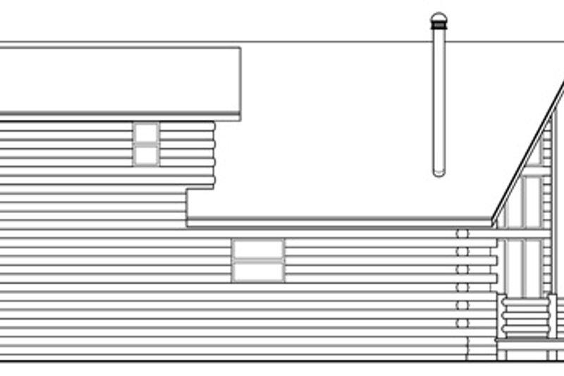 Cabin Exterior - Other Elevation Plan #124-263 - Houseplans.com