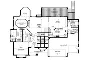 Traditional Style House Plan - 4 Beds 2.5 Baths 4989 Sq/Ft Plan #1060-61 Floor Plan - Main Floor