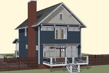 Craftsman Exterior - Rear Elevation Plan #79-273